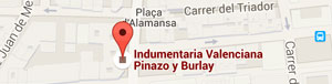 Google Map - Pinazo y Burlay